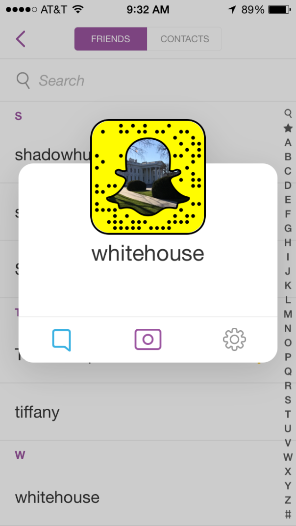 snap whitehouse